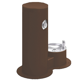 Cool Dog Waterfountain Drink - Brown