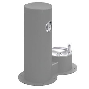 Cool Dog Waterfountain Drink - Grey