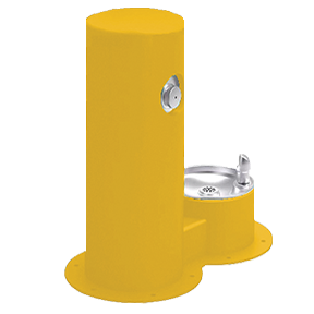 Cool Dog Waterfountain Drink - Yellow